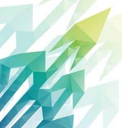 Arrows abstract background vector image vector image