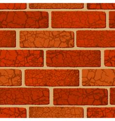 brick seamless vector image vector image
