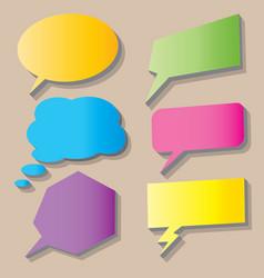 talk box bubble icon design vector image
