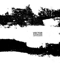 Handmade grunge textute vector image vector image