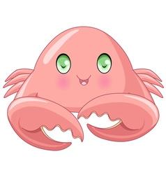 Cute Crab vector image vector image