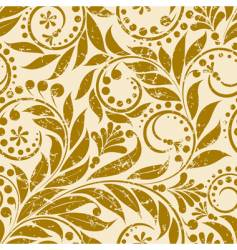 plant pattern vector image vector image