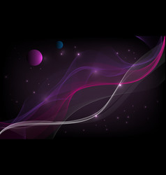 abstract background space with lines and vector image