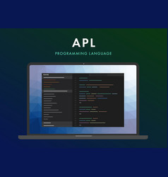 Apl programming language vector