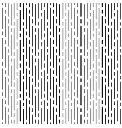 black irregular rounded lines on white background vector image