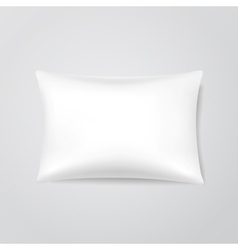Blank Pillow vector image
