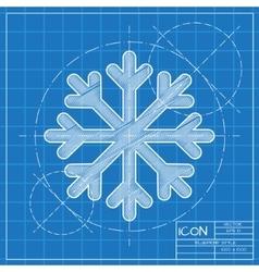 Blueprint icon vector