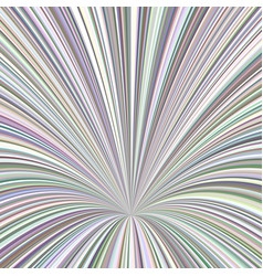 Curved ray burst background - graphic from vector