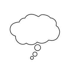 Dream bubble symbol vector