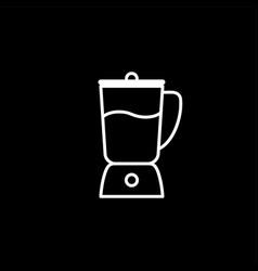 kitchen blender line icon vector image