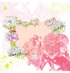 stylized background vector image