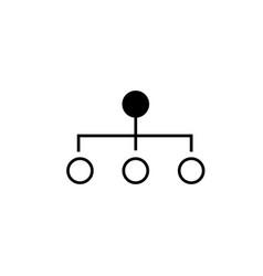 broadcasting icon vector image