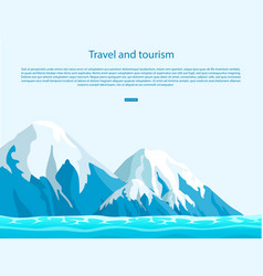 travel and tourism all around world vector image
