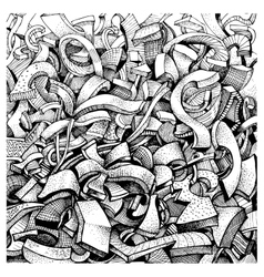 Abstract doodles vector image