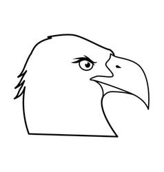 american eagle symbol vector image