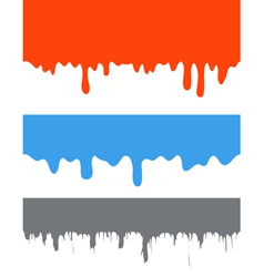 Dripping Paint vector image vector image