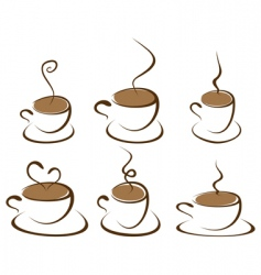 coffee3 vector image vector image