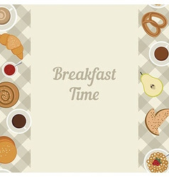 Breakfast time vector image vector image