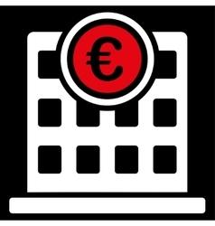 Company building icon from BiColor Euro Banking vector