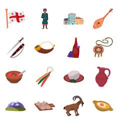 Design caucasus and traditions symbol vector