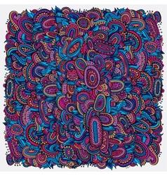 Ethnic decorative violet background vector image