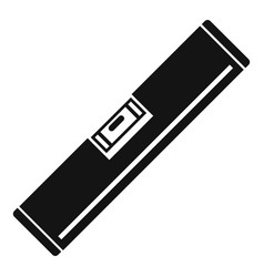 level tool icon simple style vector image
