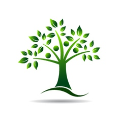 People tree Concept for Family tree natural life vector
