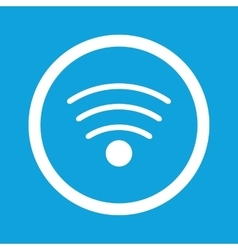 Wi-Fi sign icon vector