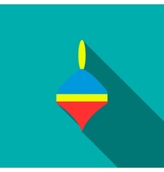 Whirligig icon flat style vector