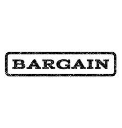 Bargain watermark stamp vector