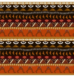 Seamless ethnic pattern in Egyptian style vector image vector image