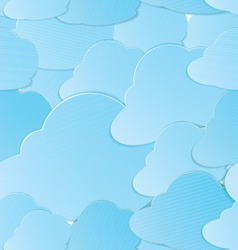 Clouds seamless vector