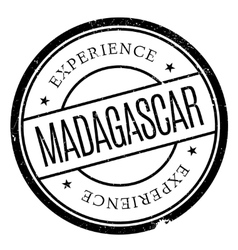 Madagascar stamp rubber grunge vector
