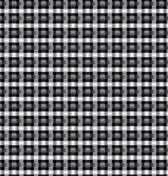 Seamless metal interweaving pattern vector