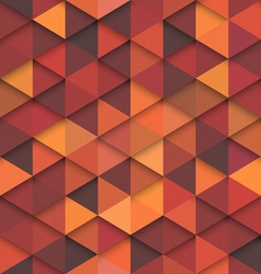 Seamless Orange Fashion Pattern vector image