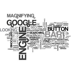 Search word cloud concept vector