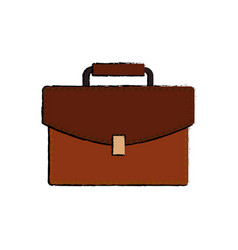 Suitcase luggage object vector