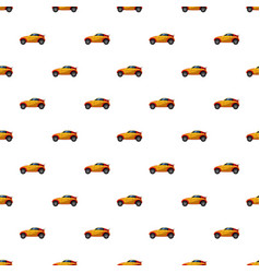 Sport car pattern vector