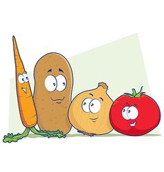 Vegetables Cartoon vector image vector image
