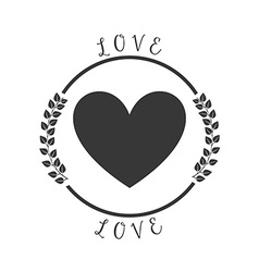 Love pictogram vector