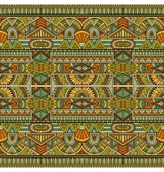 tribal ethnic background seamless pattern vector image vector image