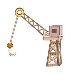 A crane vector