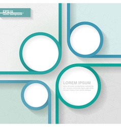 Abstract business minimalistic template vector image
