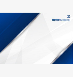 Abstract template blue and white diagonal vector