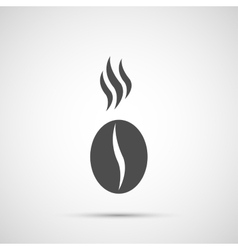 Coffee design Bean icon vector image
