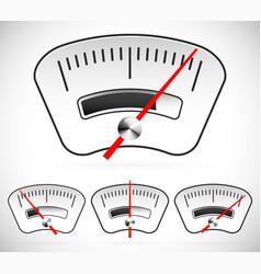 Gauge dial measure benchmark level pressure vector