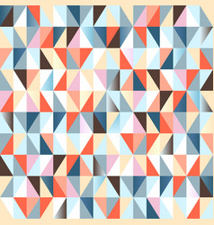 geometric abstract seamless pattern colorful vector image