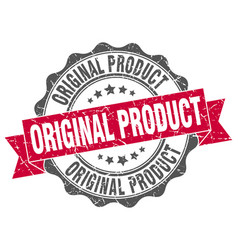 original product stamp sign seal vector image
