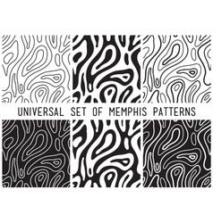 Universal lineal geometric seamless pattern vector image