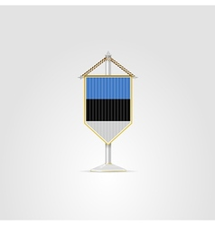 National symbols of european countries estonia vector